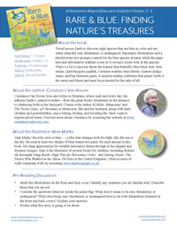 Rare and Blue - Streamlined Discussion and Activity Guide